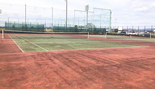 【那珂市】ふれあいの杜公園テニスコート