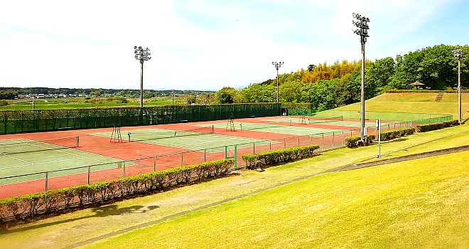 【東茨城郡茨城町】茨城町運動公園テニスコート