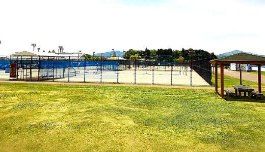 笠間市総合公園テニスコート