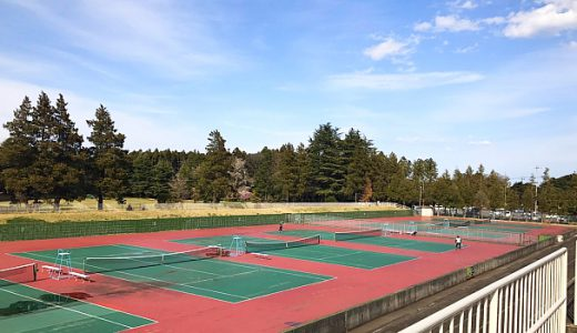 県営笠松運動公園テニスコート