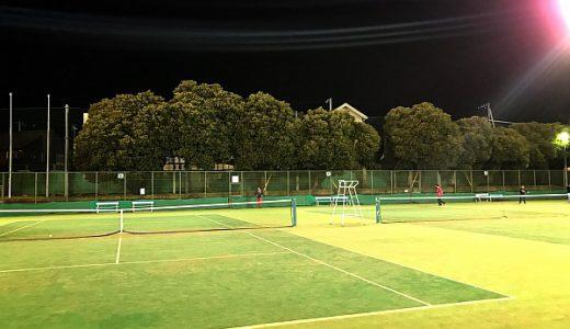 【水戸市】見川総合運動公園テニスコート