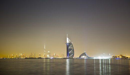 美しいタイムラプス アラブ首長国連邦Dubai