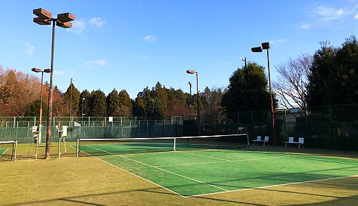 阿見町総合運動公園テニスコート