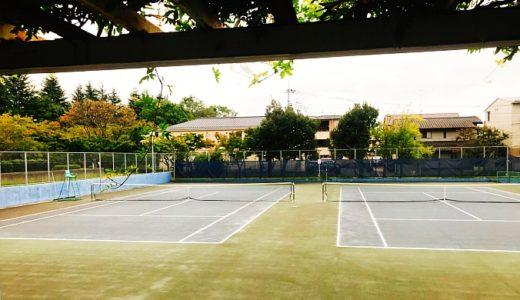 【つくば市】二の宮公園テニスコート