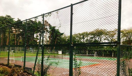 【つくば市】竹園東公園テニスコート