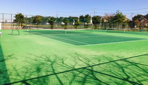 【つくば市】さくら公園テニスコート