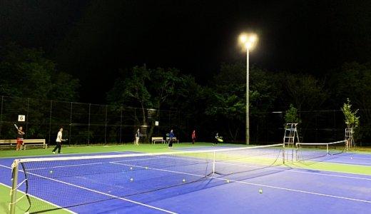 【水戸市】アダストリア水戸の脇。東町運動公園テニスコート。